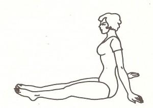 serie di pawanmuktasana - posizione di base