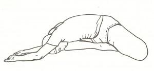 Asana pre-meditative: posizione di rilassamento degli animali