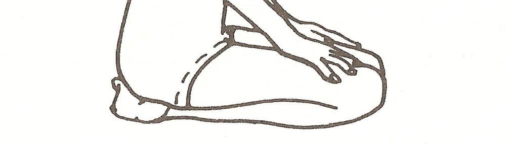 vajrasana, posizione del fulmine