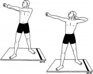 Akarna dhanurasana (posizione dell'arco e della freccia)