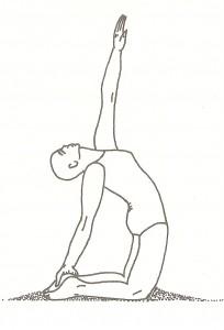 Ushtrasana (posizione del cammello)