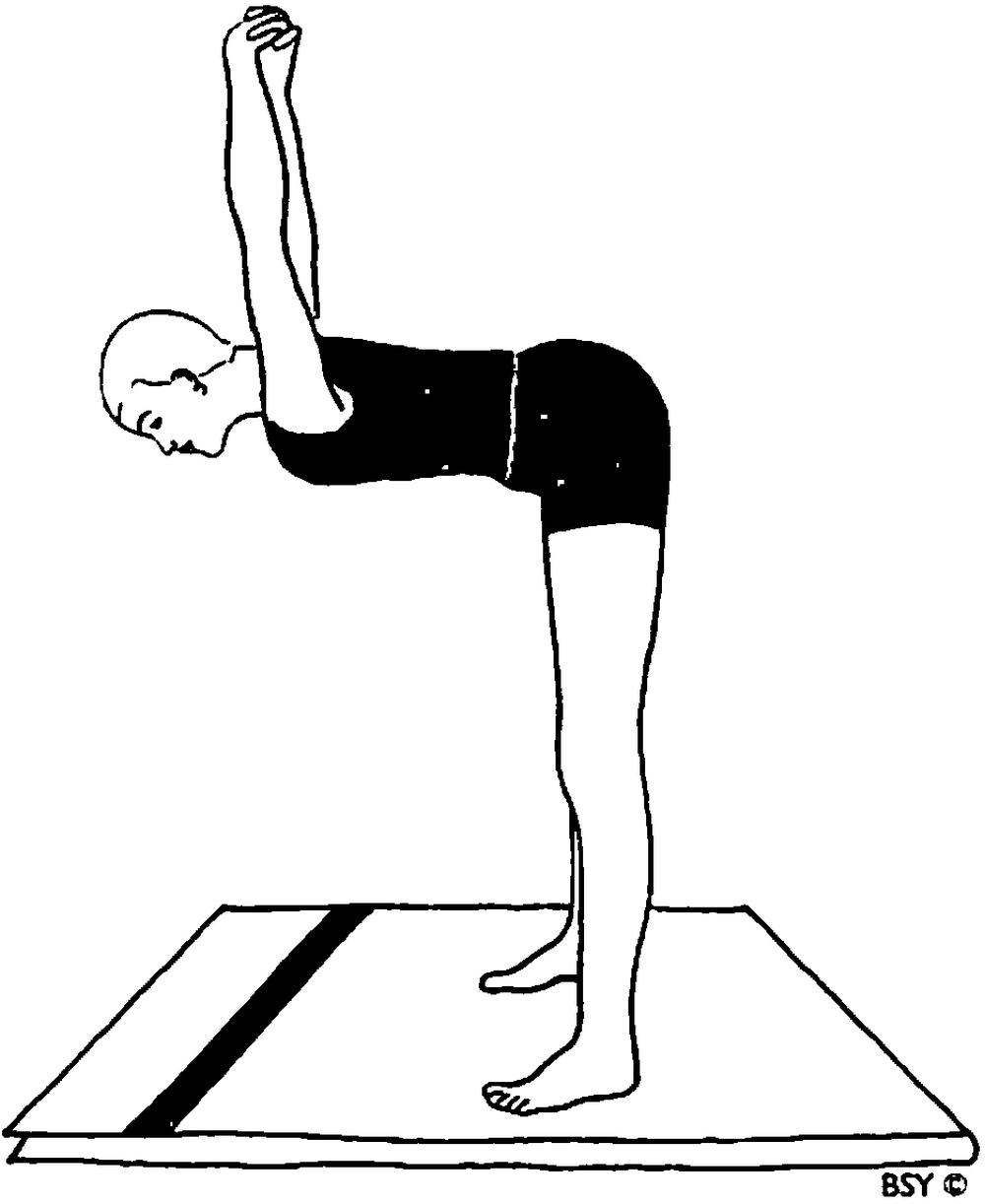 Dwikonasana (posizione del doppio angolo)