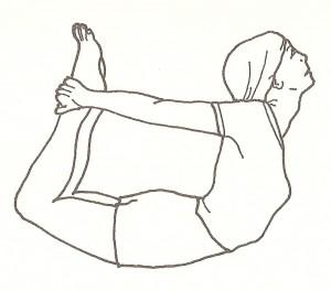 dhanurasana - posizione dell'arco