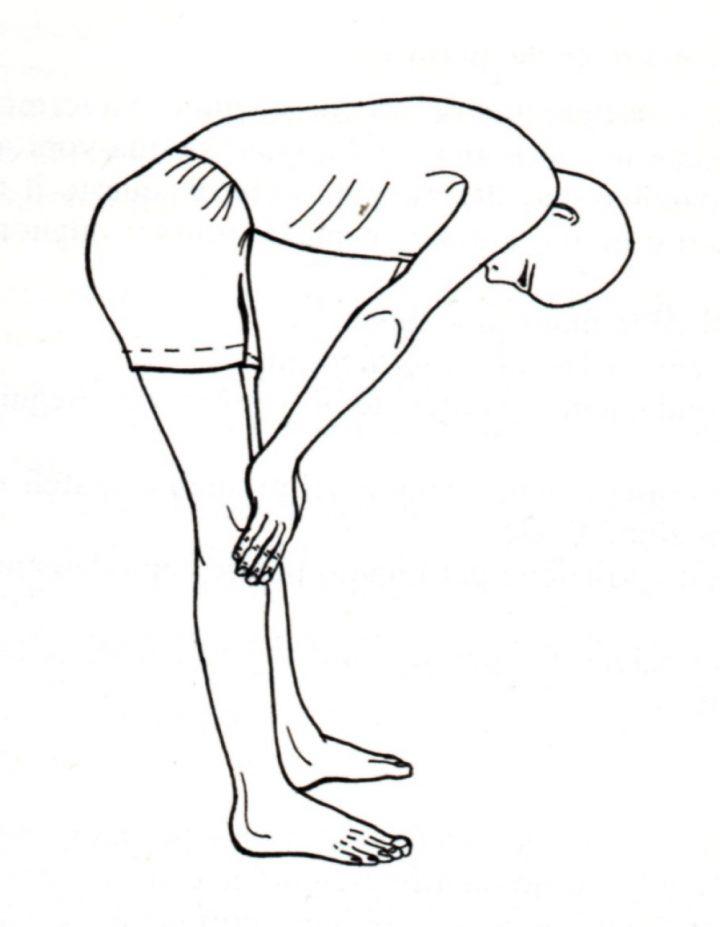 jalandhara bandha in piedi