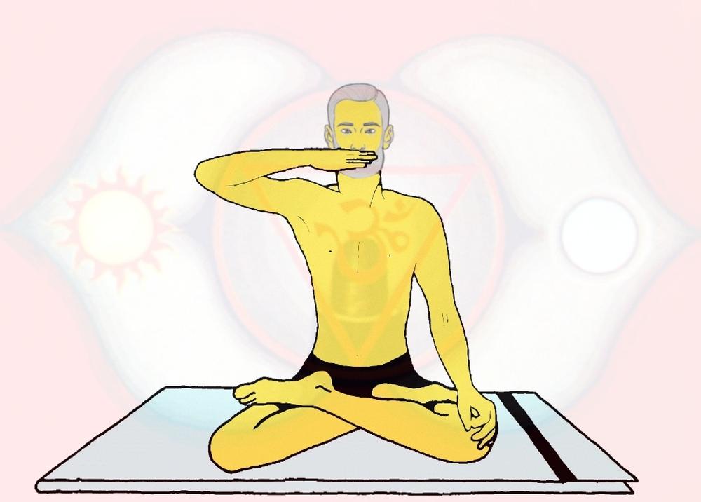 Bhuchari Mudra (Guardare nel nulla)