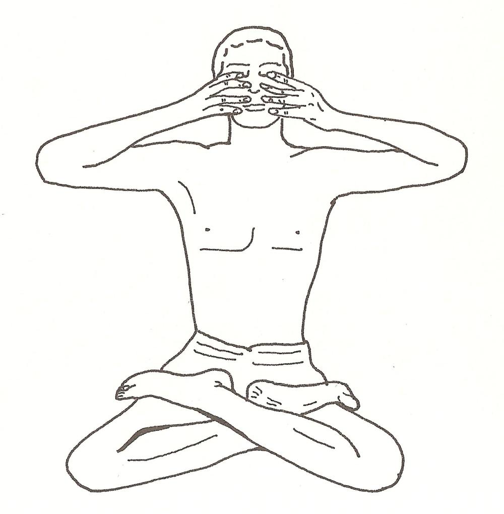 baddha yoni asana (posizione della sorgente)