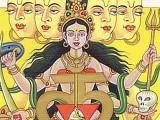 Divinità nel Fiore di Loto Muladhara