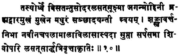 Shatchakranirupana - versetto 10
