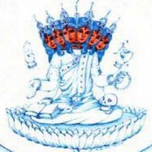 La Shakti Hākinī, divinità tutelare di Agya chakra