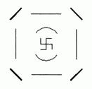 La notazione simbolica dello Spazio reale di ordine 4.