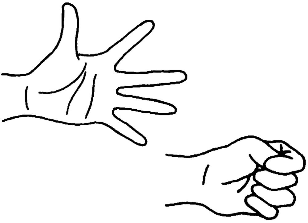 Mushtika Bandhana (Serrare la mano)