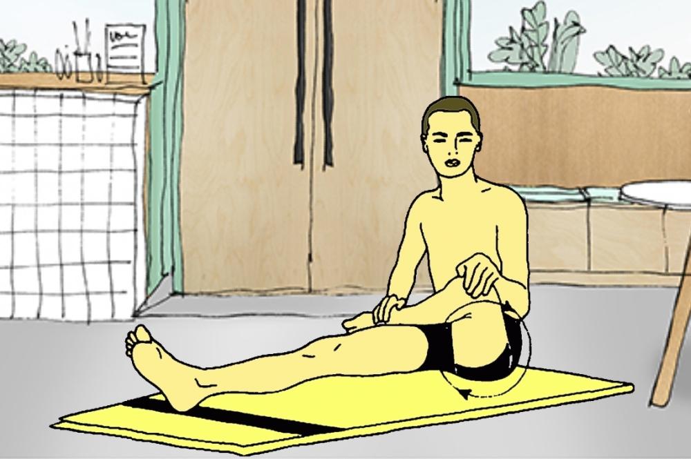 Shroni chakra (rotazione dell'anca)
