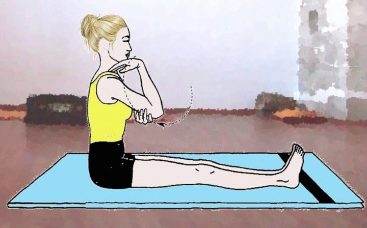 Kehuni Chakra (Rotazione dei gomiti)