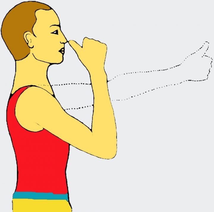 Esercizi yoga per gli occhi - Pratica preliminare per Nasikagra Drishti