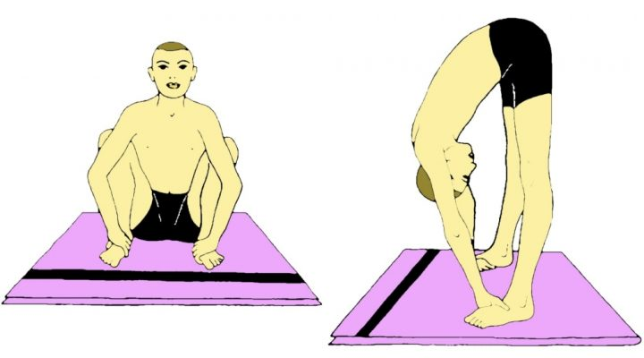 Vayu Nishkasana (Postura che libera i gas)