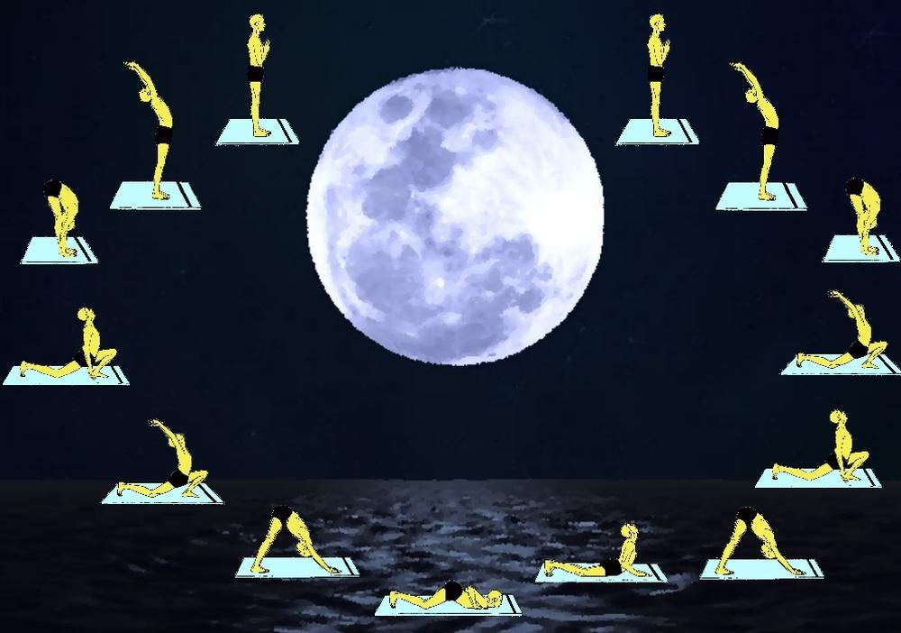 Chandra Namaskara, il Saluto alla Luna