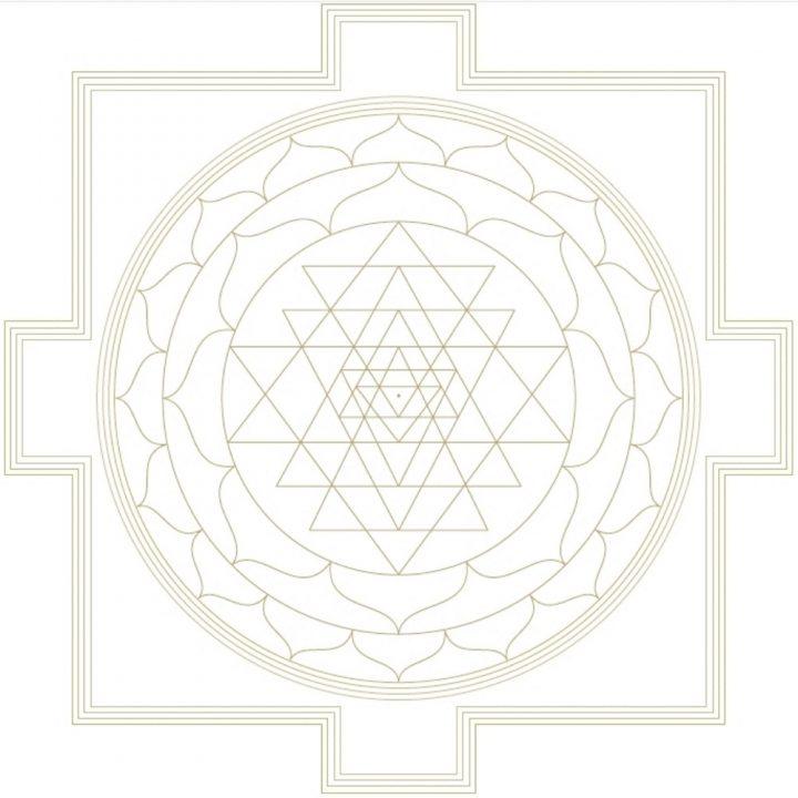 Shri Yantra of Shri Vidya